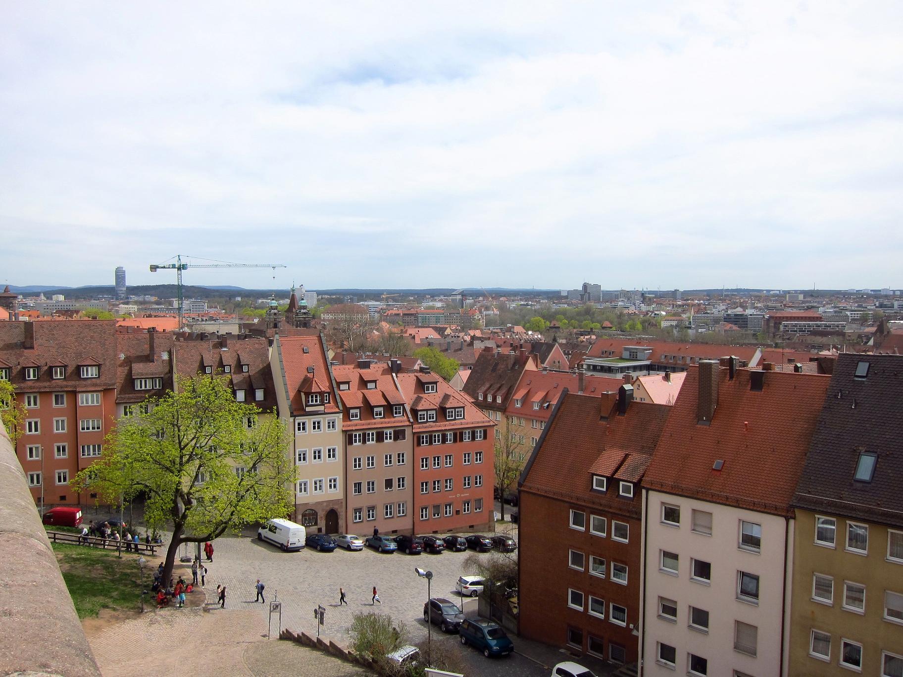 Вигляд на старе місто з фортечних мурів.