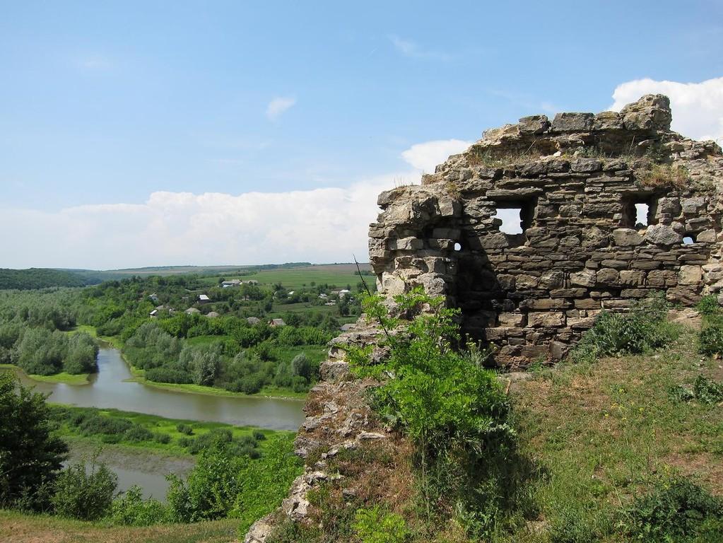 Долина річки Серед від башти