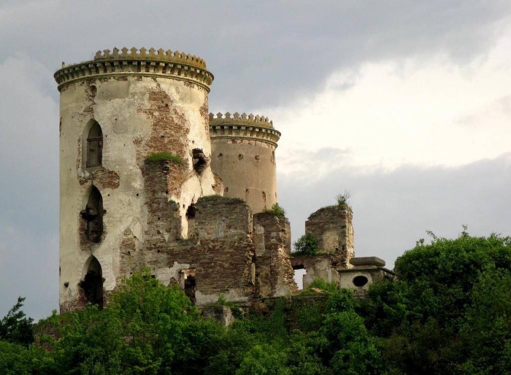 Вежі і залишки палацу