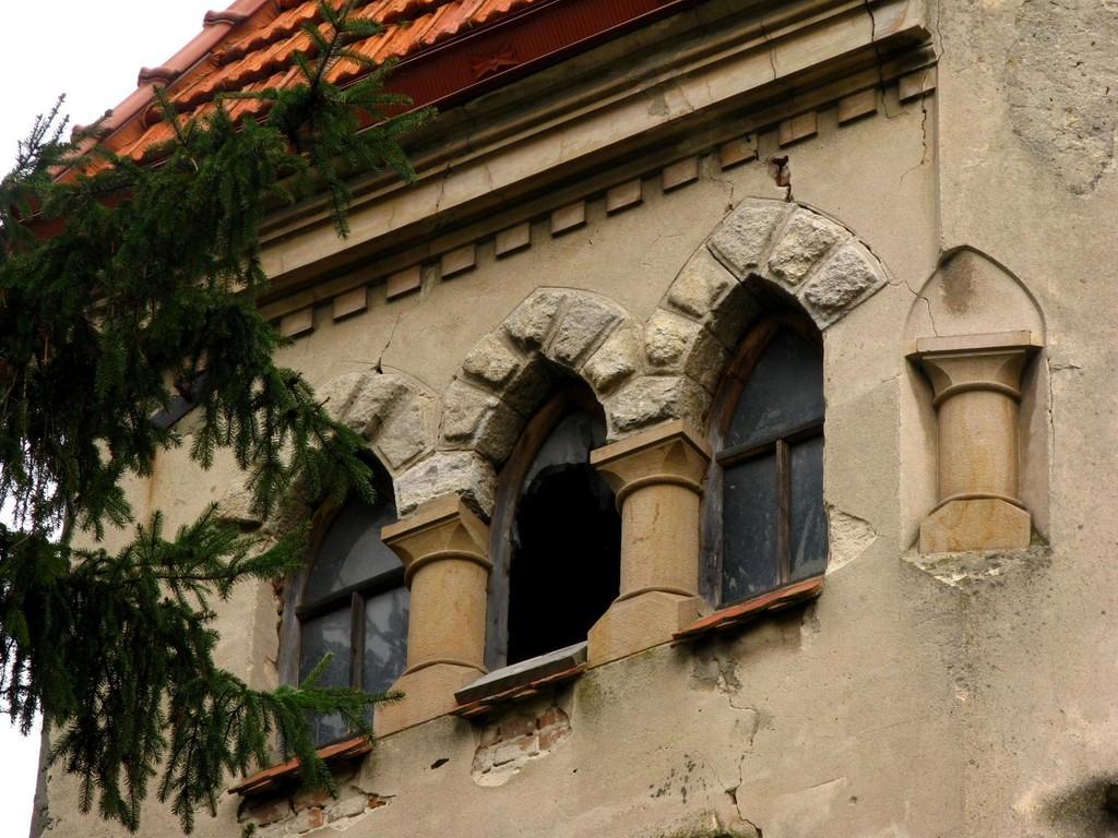Красиві вікна вежі