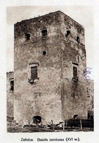 Західна вежа в 20 роках XX ст.