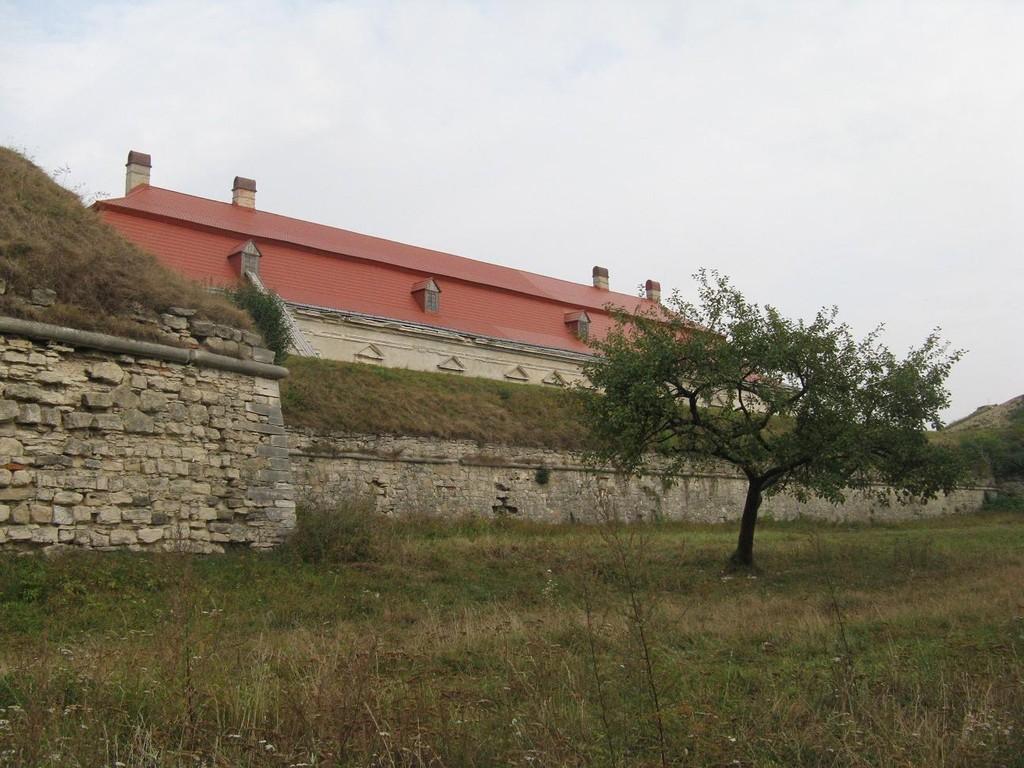 Золочів. Замок з заходу