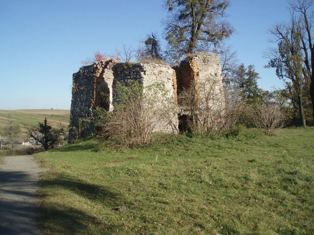 Оборонна вежа замку