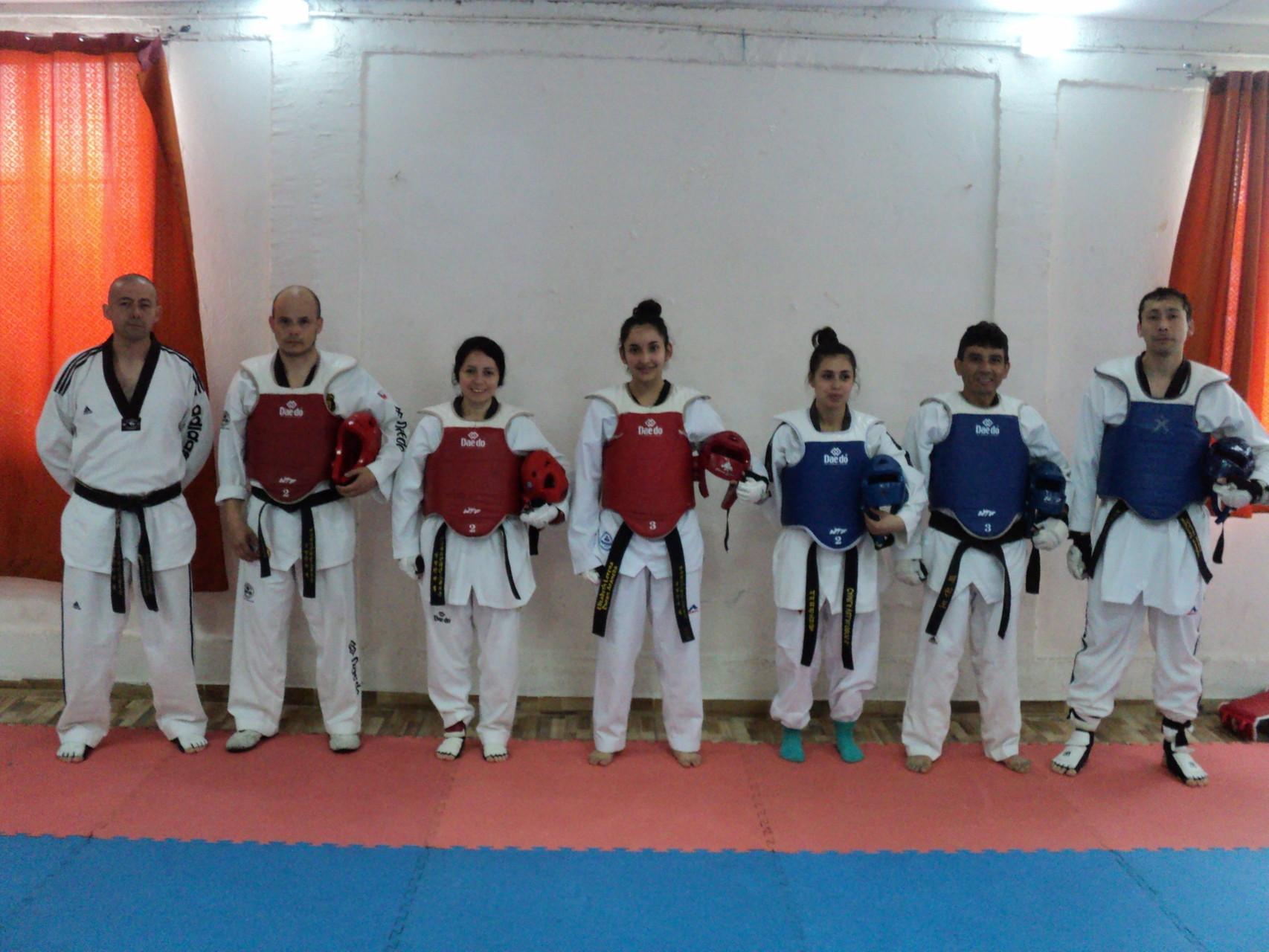 Entrenamiento en Academia SeongJang 11-10-2015
