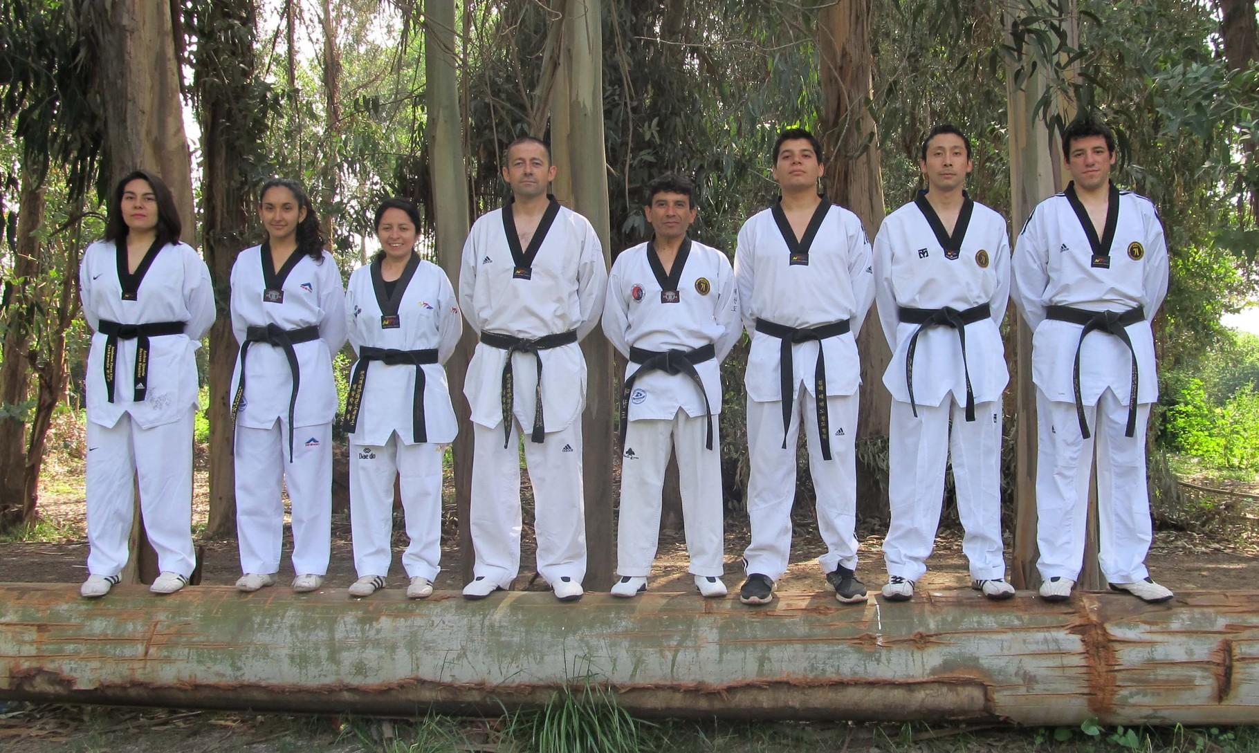 Encuentro Cinturones Negros F-K Isla de Maipo 31-10-2015