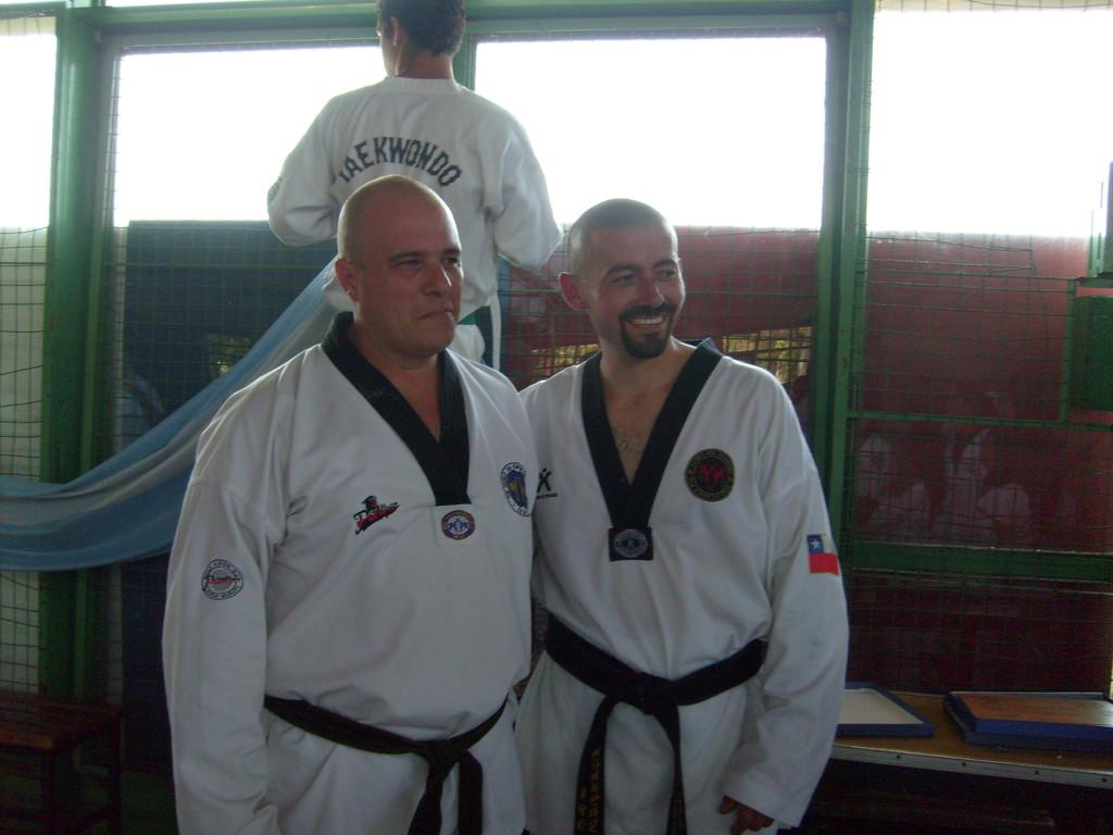 Sabonnin Flores junto  a Maestro Carlos D'amico