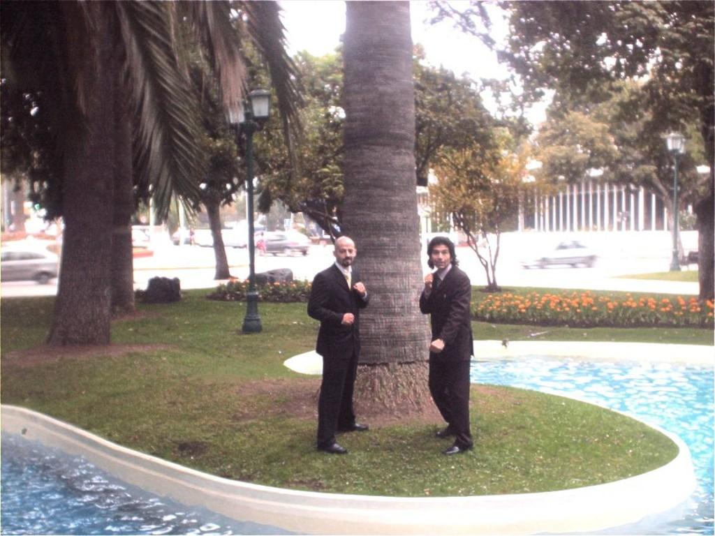 Seminario Instructores Junto a su alumno Esteban Bascuñan