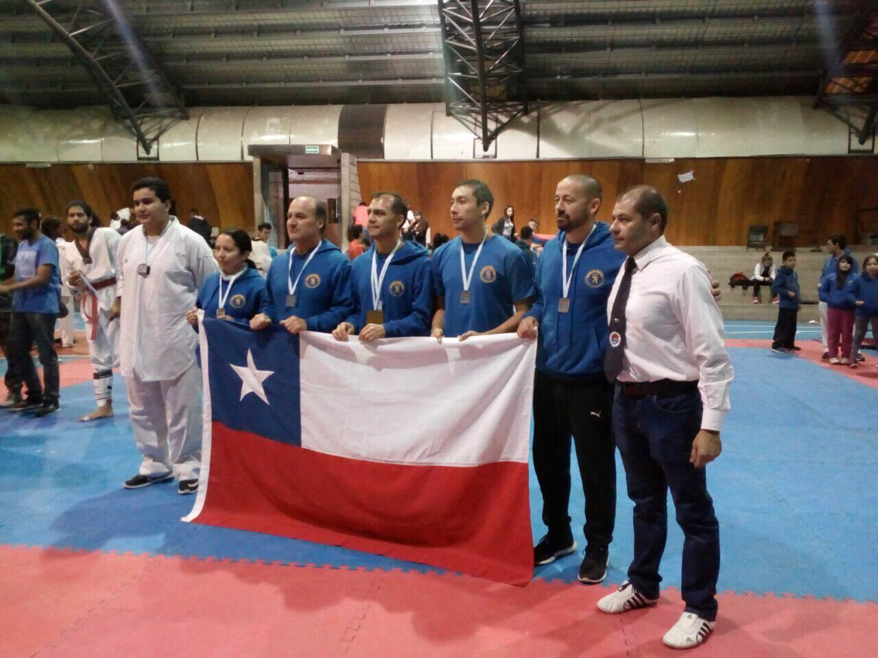 Equipo Hapkido MMK Chile