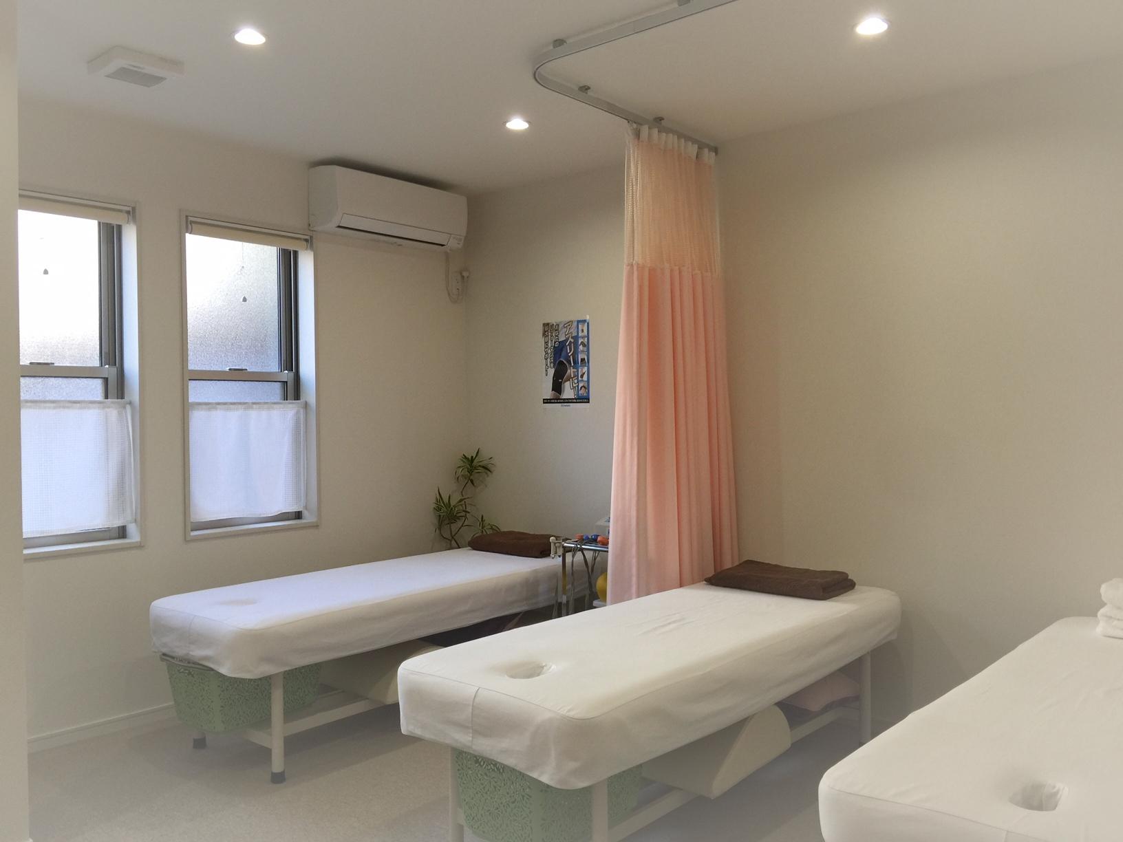 尾藤治療院施術室
