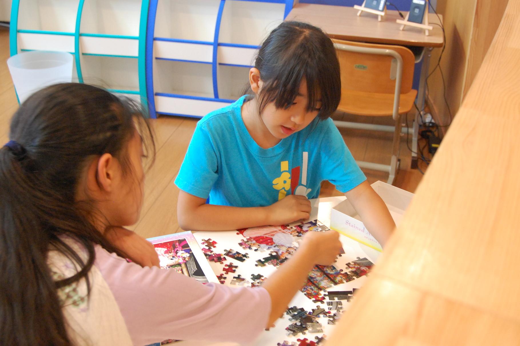 フリータイム 学習後は、生徒さんの好きな課題に取り組みます