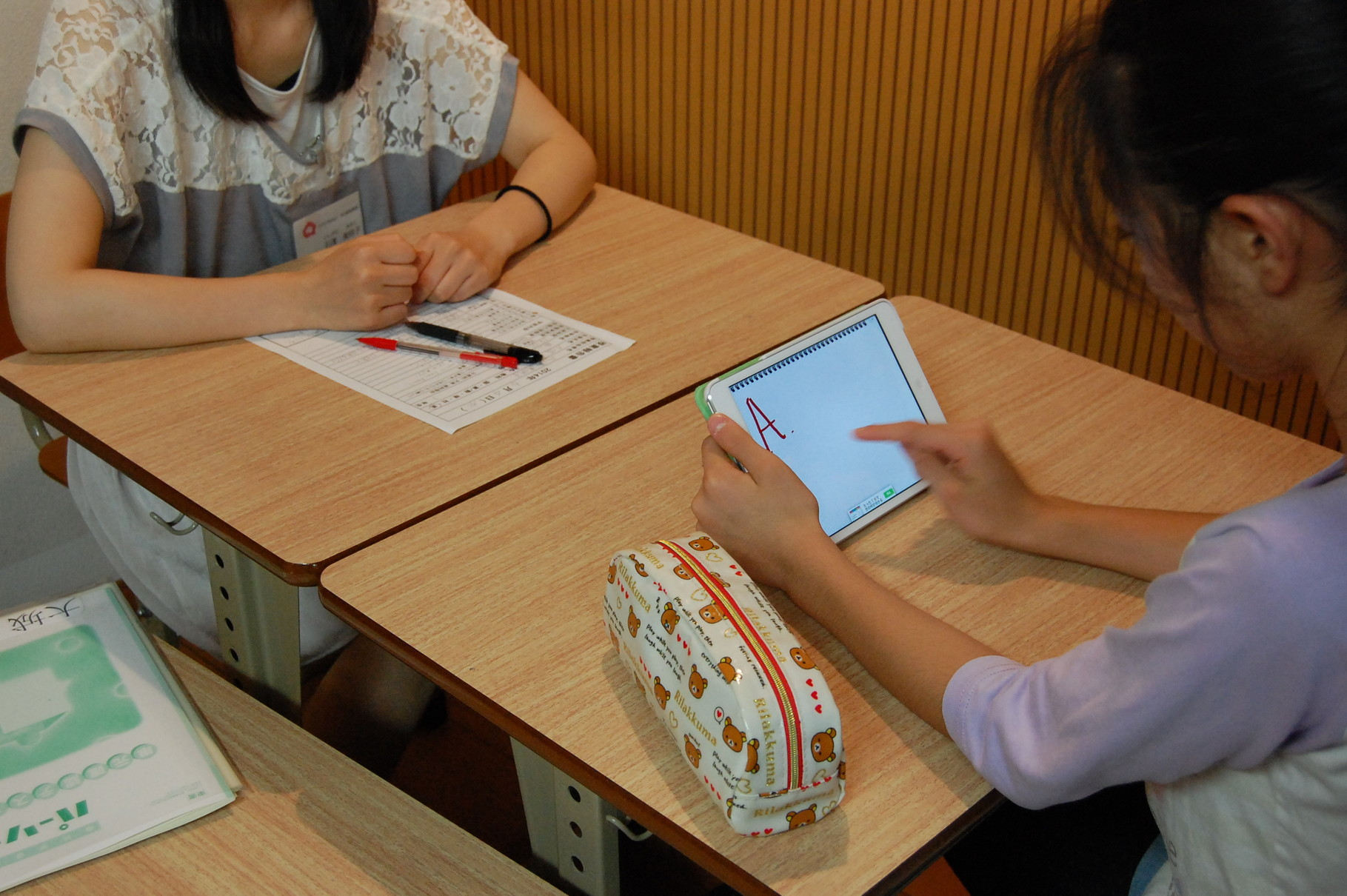 iPad 教材・知育アプリを活用しています