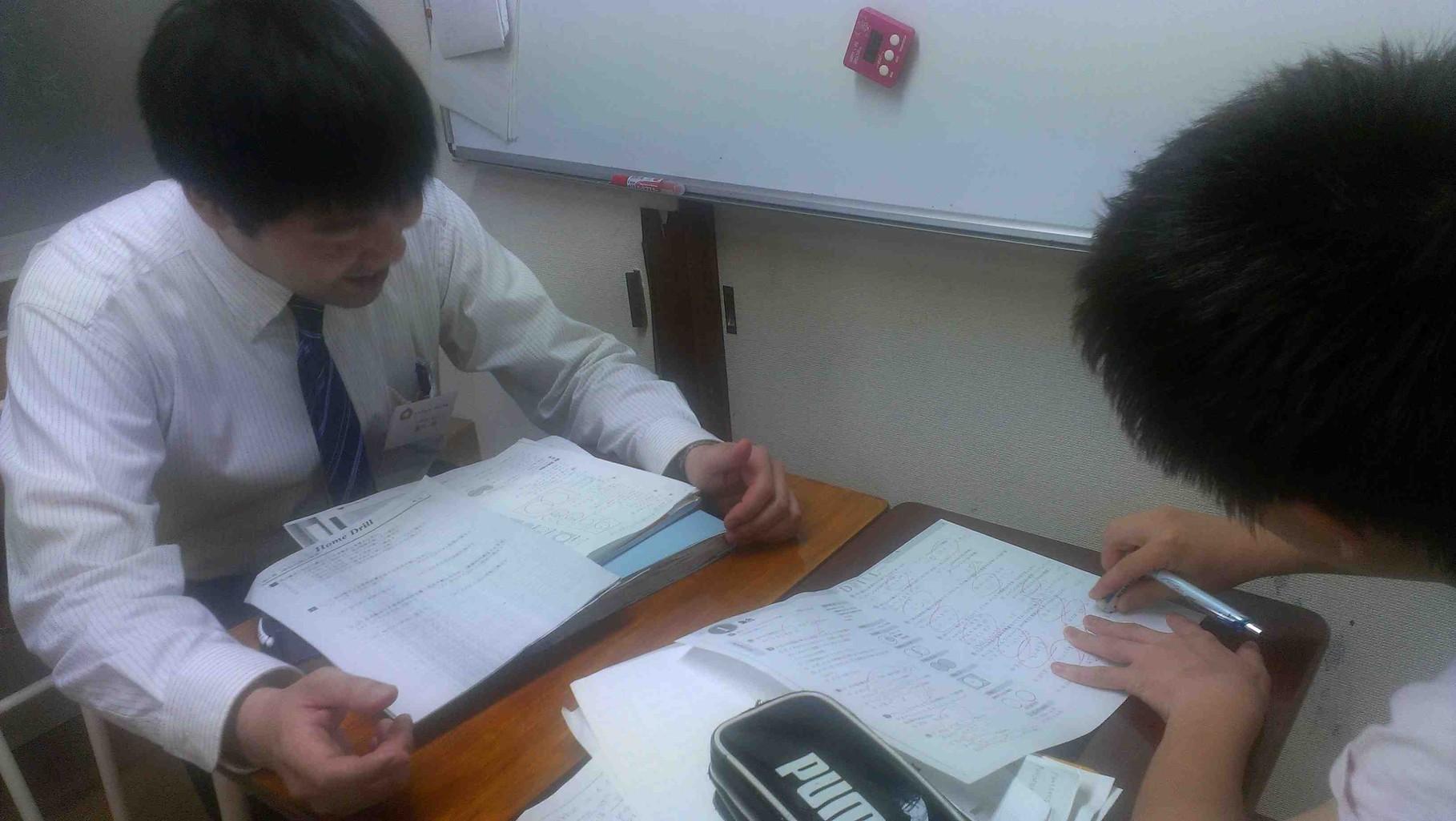 中・高生向け指導 テスト・受験対策も行います