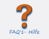 FAQ's - Hilfe