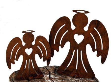 Engel aus Edelrost