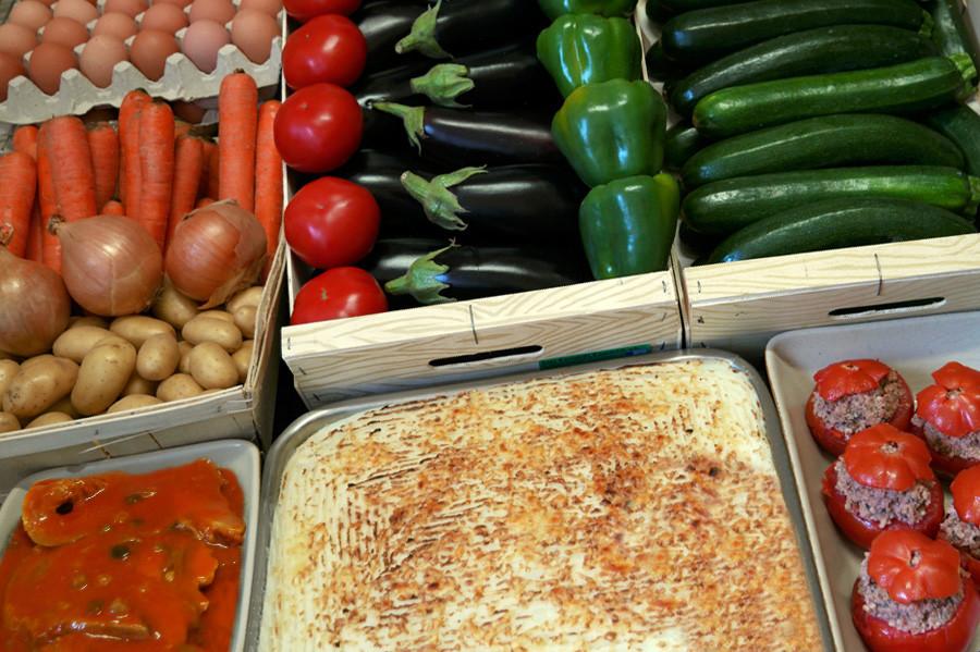 Tous nos plats sont préparés avec des produits frais et choisis avec attention.