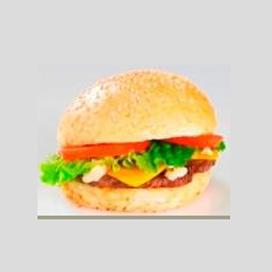 American burger oignons
