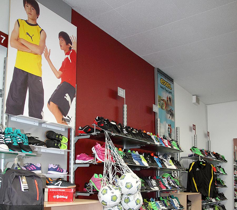 Sport und Schulsport, vom Rucksack zum Kickschuh für Teens und Kids