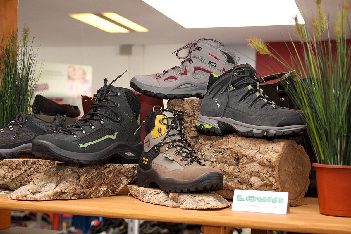 Outdoor & Trekking - auch Wanderschuhe sind unsere Stärke
