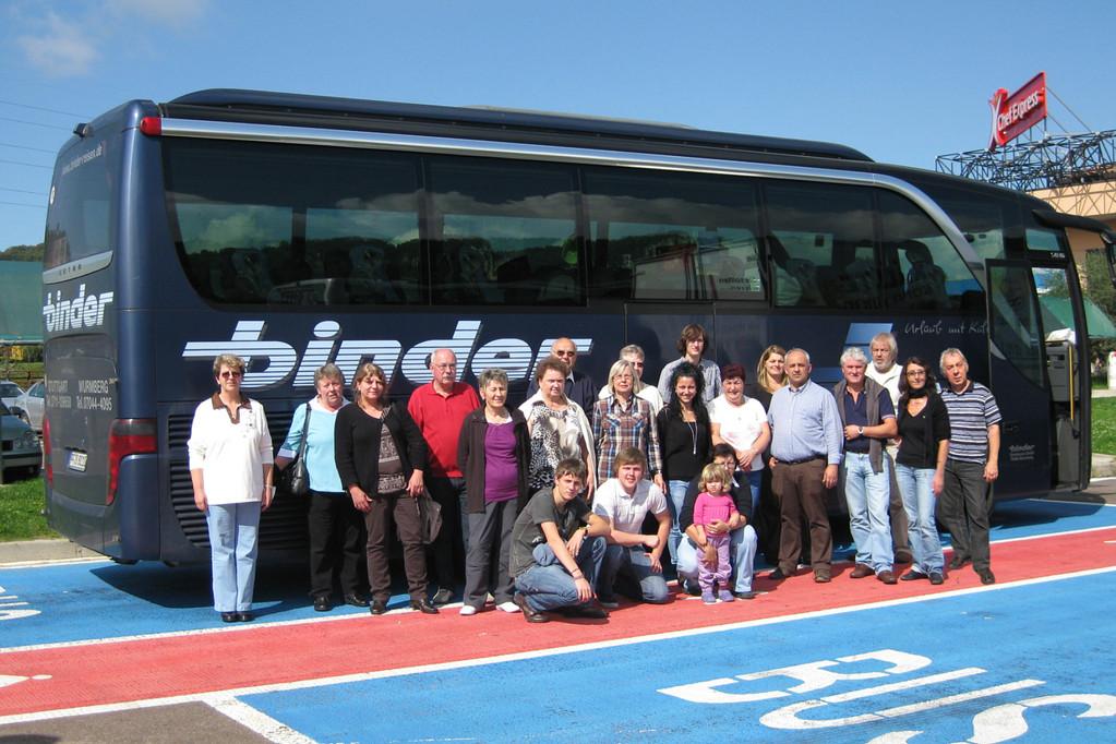 2010 - 24. - 28.09. - Fiera San Michele - unsere Reisegruppe