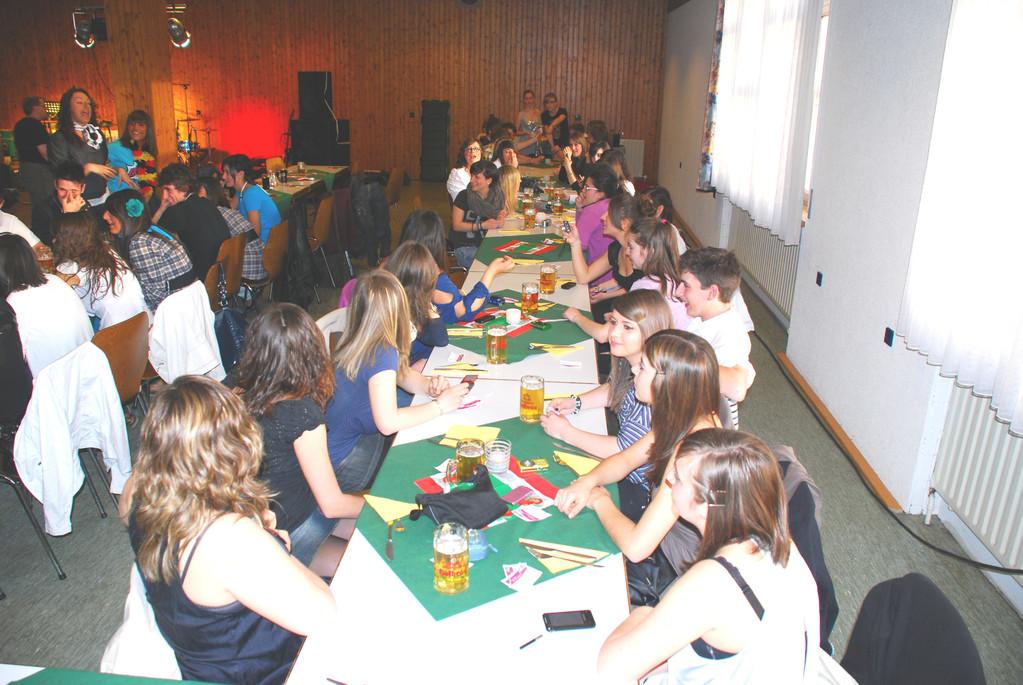 2010 - 29. April - Besuch Schüler aus Castelnovo