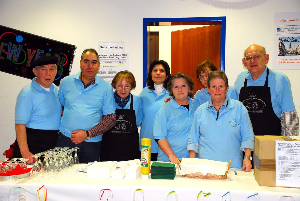 2008 - Das Serviceteam vom Städtepartnerschaftsverein