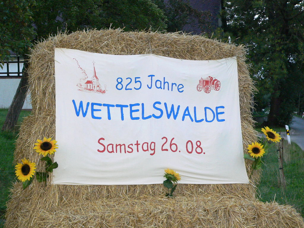 2006 - 825Jahrfeier Wettelwalde