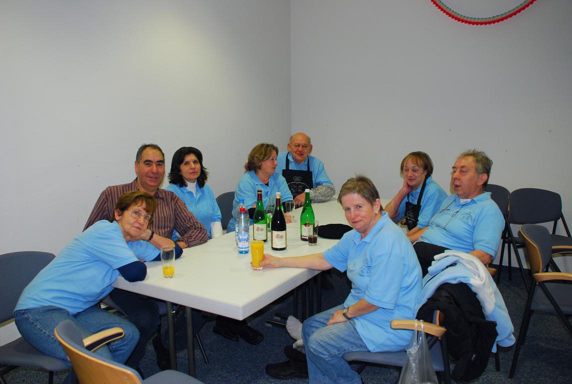 2009 - Neujahrsmorgen - Es ist geschafft - auch das Team !