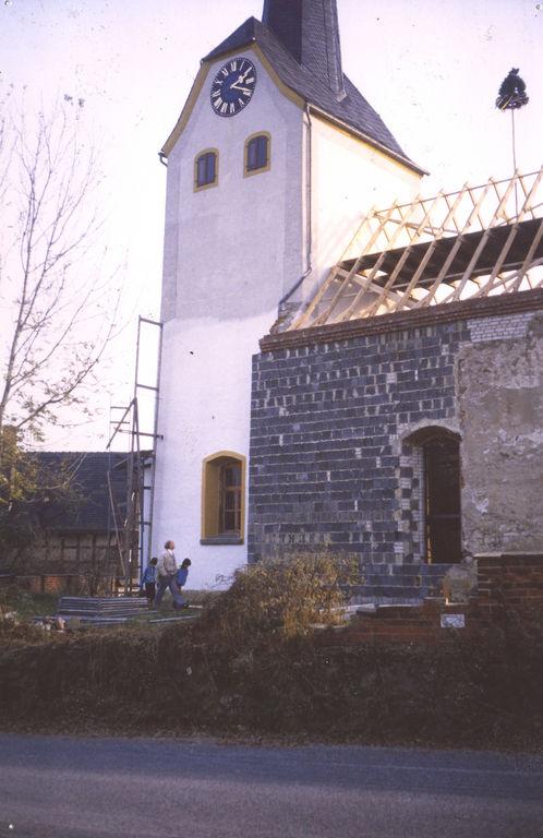 1996/97 Kirchenrenovierung