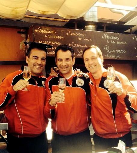 Telefonía, finanzas y fontanería unidas por el deporte en El Marino-Rotes