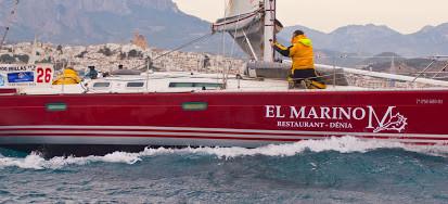 Una regata dura y un nuevo éxito para El Marino. Foto Pepe Zaragozí. CN Altea