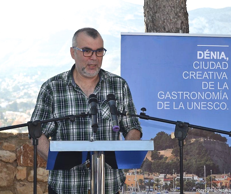Manolo Gregorio, de El Marino Port, durante su intervención ante los empresarios premiados con el distintivo de calidad SICTED