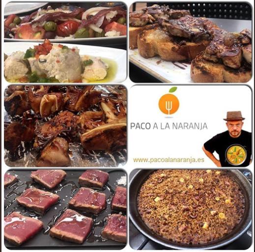 Las tapas del Marino por Paco Alonso. Todo un profesional del periodismo gastronómico.