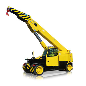 Mobilkran, Pick&carry mit 35 tonen Tragkraft mieten