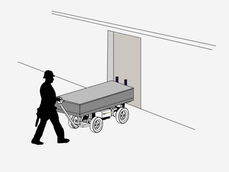transportwagen elektrischer antrieb