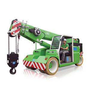 Mobilkran Pick&Carry, bis 16 tonen Tragkraft mieten