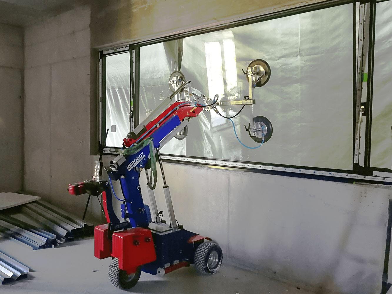 Glasroboter KS 350 Einsatz