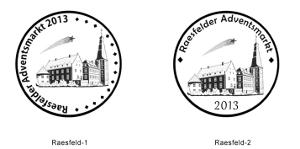 Entwürfe für den Raesfelder Adventsmarkt 2013