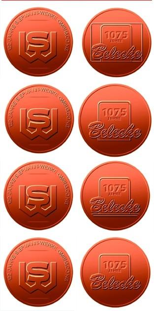 Sie Möchten Eine Eigene Münze Oder Medaille Herstellen