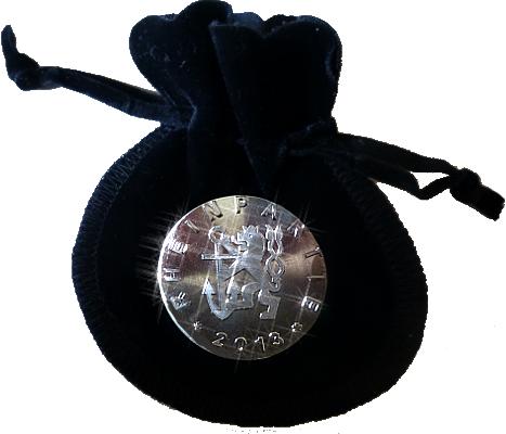 """Souvernier-Medaille der """"Rheinpartie 2013"""""""