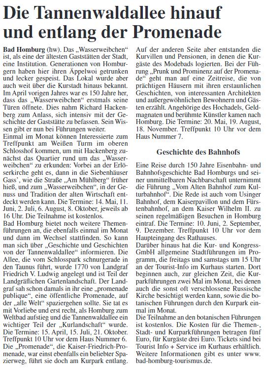 Bad Homburger Woche 06.04.2017