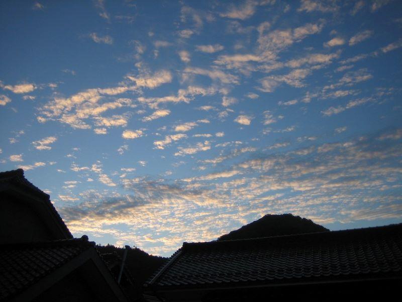 秋の空、津和野 2020