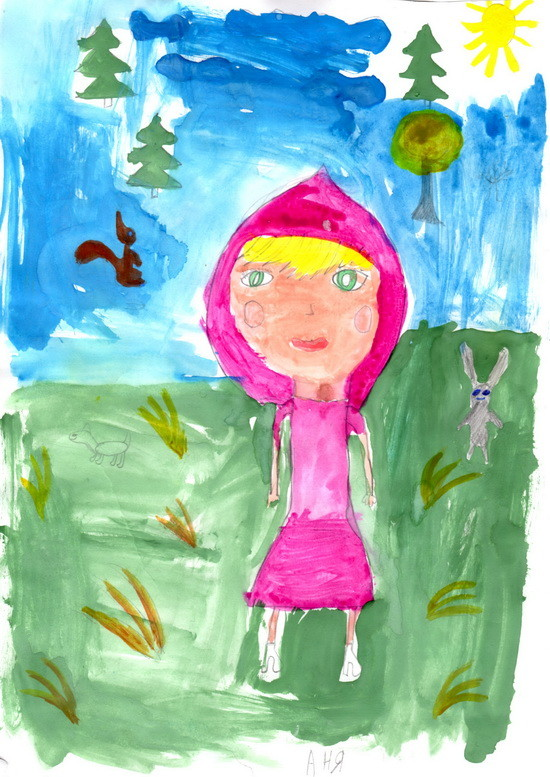 Аня, 8 лет