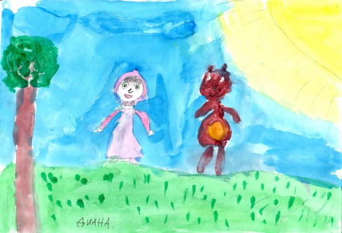 Диана, 7 лет