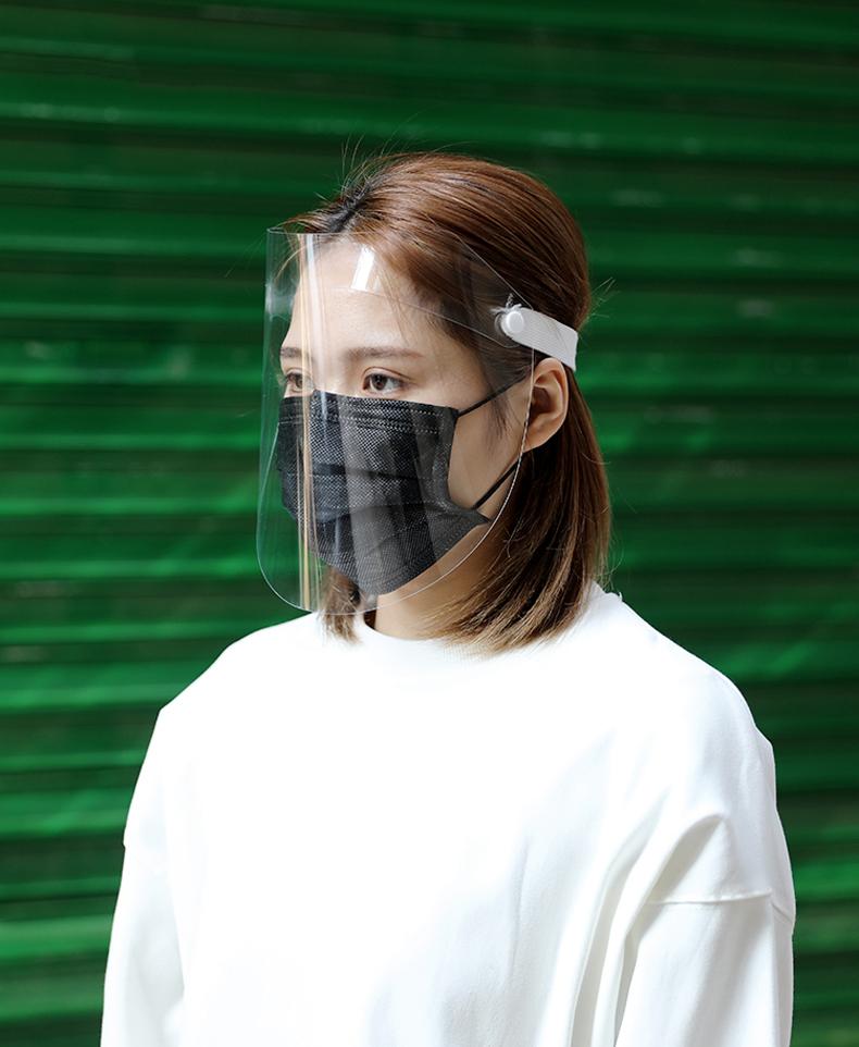 【CS22】全臉防飛沫透明防護面罩-6入組(防疫必備)