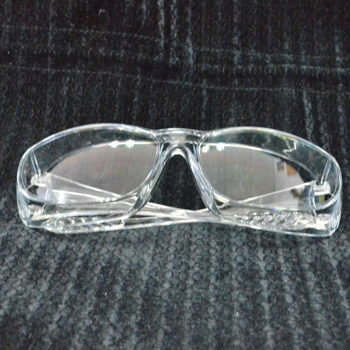 防疫必備-透明護目鏡可包覆眼鏡,強化安全透明防護鏡,抗UV