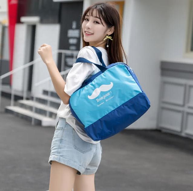 【Fun Life】韓版全新升級防水層 大容量乾溼兩用運動旅行收納袋包(戶外運動必備神器)