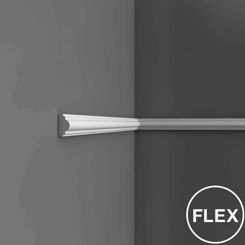 px120f flex orac decor axxent wandleiste stuckleisten. Black Bedroom Furniture Sets. Home Design Ideas