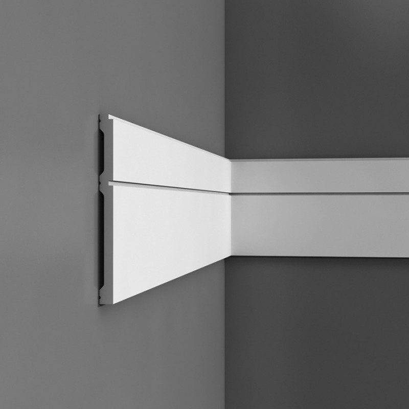 p5050 orac decor luxxus wandleiste stuckleisten. Black Bedroom Furniture Sets. Home Design Ideas