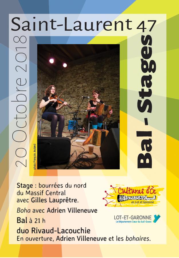 Bal d'automne à Saint-Laurent
