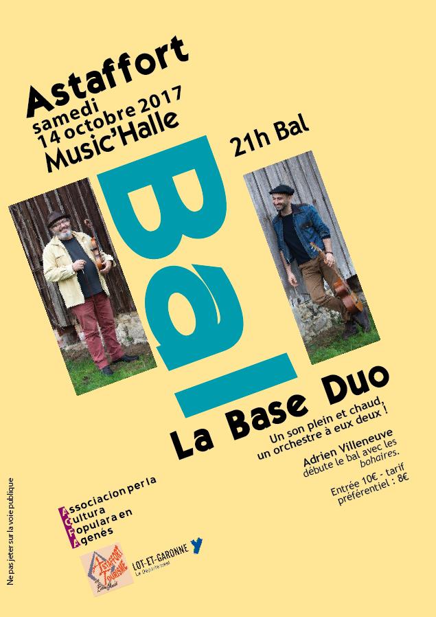 Spécial bourrée d'Ariège et la Base duo pour le bal